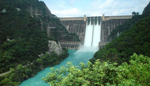 Bhakra Nangal dam Bilaspur